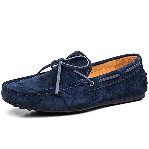 OZZEG ,  Herren Mokassin Navy-blau