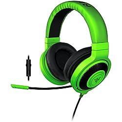 Razer Kraken Pro 2015 - Over-Ear Casque Gaming Headset Analogique, Over-Ear Casque Gamer pour PC et PS4, Vert