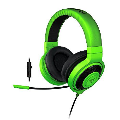 Razer Kraken Pro 2015 - da Gioco Analogiche Over-Ear - Headset per PC e PS4, Verde