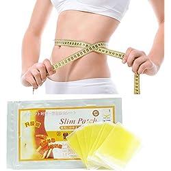 10 Teile/beutel Natürliche Kräuter Gewichtsverlust Schlankheitsbalancen Schlank Patch Pads