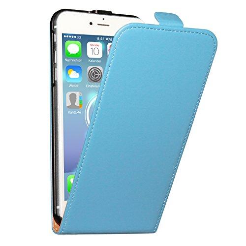 deinPhone Apple iPhone 6Plus (5.5) Custodia Bumper Case Custodia Case blu