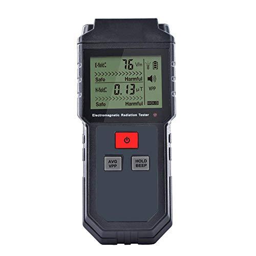 Duhe189014 rilevatore di Radiazioni del Campo elettromagnetico/misuratore di EMF, contatore tenuto in Mano del Tester del dosimetro di LCD Mini Digital LCD