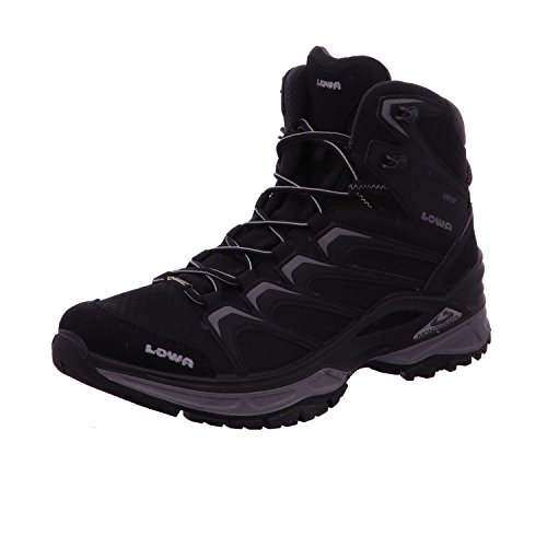 Lowa Innox GTX Mid, Chaussures de Randonnée Hautes Homme Black / Grey