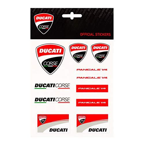 Whybee 2019 Ducati Corse Racing MotoGP Mittelgroßer Aufkleberbogen Aufkleber