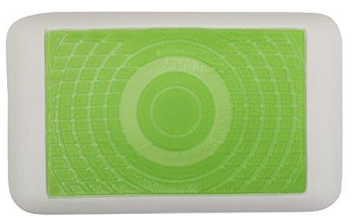 daydream: bequemes und hochwertiges Kopfkissen aus Memory Foam (Maße: 50x30x10 cm) mit grünem Gel + Bezug aus BAMBUS-Stoff mit ALOE VERA (P-06)