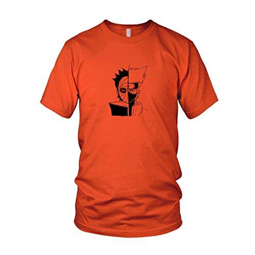 ren T-Shirt, Größe: S, Farbe: orange (Geek Kostüm Ideen)