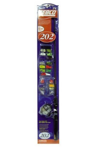 202 Spincast Combo Fishing Rod And Reel by Zebco Corp. -