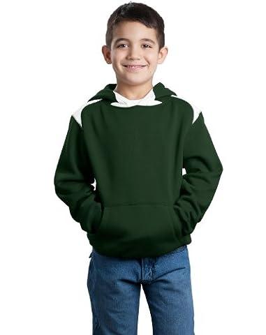 Sport-Tek y264jeunesse pull à capuche pour homme - Vert - X-Small