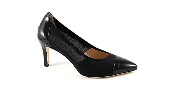 Peinture D088v Tissu Pointe Chaussures Melluso Noires Dcollet T6OICHHwq