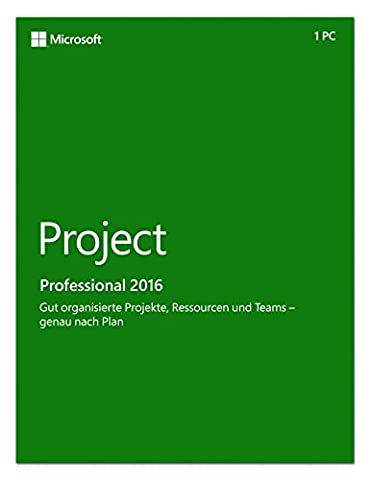 Microsoft Project Pro 2016 [PC Online Code] (Project Microsoft Office)