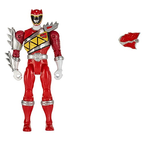 Image of Power Rangers 12.5 cm Dino Supercharge Armed Up Mode Ranger Figure (Red)