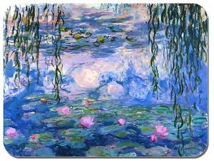 Preisvergleich Produktbild Claude Monet Seerosen Mauspad. Hochwertiges Mauspad Kunstdruck