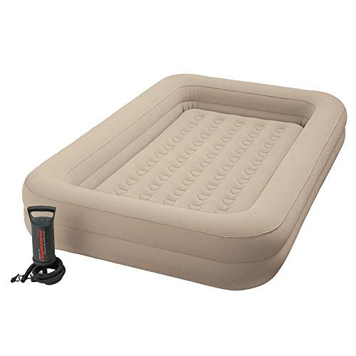 Intex 12-66810NP Kidz Travel Bed Set, phthalates-free mit Handpumpe, 107 x 168 x 25 cm (Mint Grün)