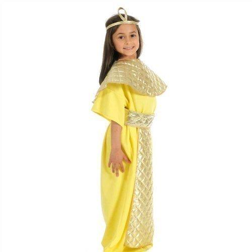 Kostüme Biblische (Girls Cleopatra-Biblische Book Tag Kostüm Outfit 8-9-10)