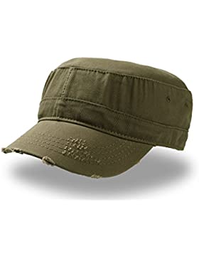 Urban Destroyed - Gorro militar 100% algodón chino, Unisex adulto, Olive