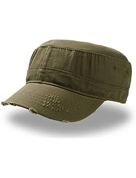 Urban Destroyed - Gorro militar 100% algodón chino, Unisex adulto, Olive