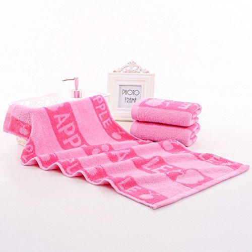 xxffh-asciugamano-puro-cotone-14-asciugamani-di-apple-jacquard-interrotti-assorbimento-di-acqua-di-r