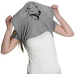 Crazy Dog Tshirts Women's Ask Me About My Llama Tshirt Funny Llama Flip Shirt For Women from Crazy Dog Tshirts