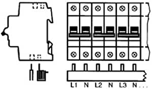 ABB Stotz-Kontakt Phasenschiene PS4//8