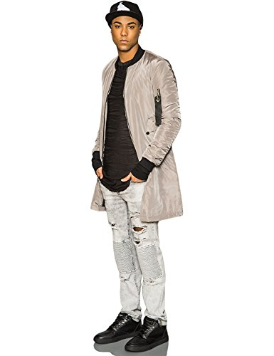 Bomber long Sixth June taupe 1105C Gris