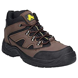 Amblers Safety FS151 SB-P Mid Safe Boot Brown Size 10