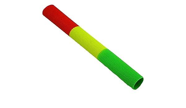 Rastafari Red Yellow Green ND Jiggyjazz Cricket Bat Grip Octopus Style