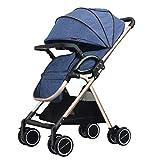 Baby carriage Passeggino Leggero ad Alta Vista, Pieghevole Sistema di Viaggio...