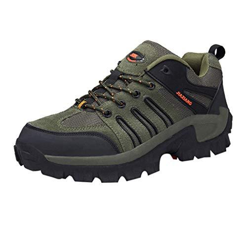 TWISFER Herren Wanderschuhe Outdoor Trekking Schuhe Männer Sport Hiking Bergschuhe für Klettern Reisen Täglichen Gebrauch Trainer