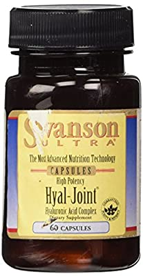 Swanson Ultra Hyal-Joint Hyaluronic Acid Complex, 83mg, 60 Capsules by Swanson Health Products