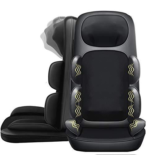 Shiatsu Massagestuhl Pad Akupressurtherapie Rückenmassagegerät Kissen mit Wärme -