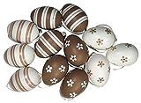 Khevga uova di Pasqua, decorazione da appendere, set pastello, 1 x 12
