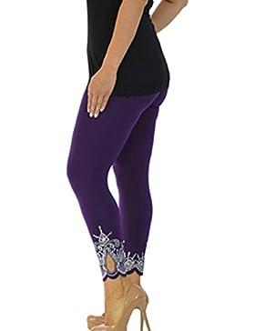 Juleya Leggings Mujer Cintura Alta Pantalones Yoga Mella Mujeres Pantalones Deportivos Push up Pantalones de Correr...