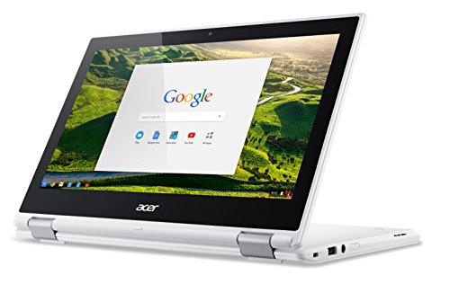 Acer Chromebook R 11 CB5 132T C4LB 295 cm 116 Zoll HD IPS 360 Convertible Notebook Intel Celeron N3160 4GB RAM 32GB eMMC Intel HD Graphics Google Chrome OS wei Notebooks