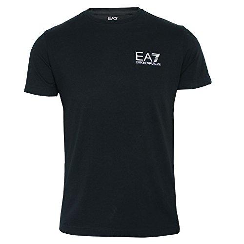 Emporio Armani T-shirt Top (EA7 EMPORIO ARMANI T-Shirt Herren nachtblau Rundhals TOP - Marine, XX-Large)