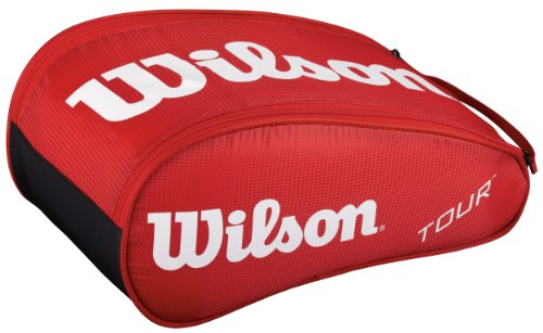 Wilson Tasche Tour Shoe Bag Red