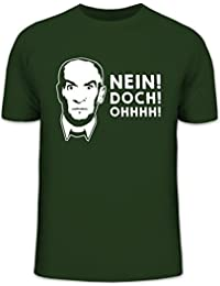 Shirtstreet24, NEIN! DOCH! OHHHH! Herren T-Shirt Herrenshirt Funshirt