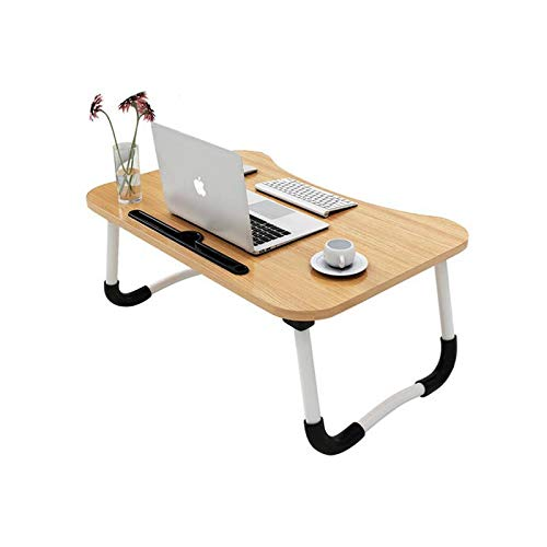 MemeHo® Smart Multi-Purpose Laptop Table with Dock Stand/Study Table/Bed Table/Foldable...