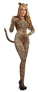 Forum Novelties-AC78846 Disfraz de Leopardo para Mujer, Color Marron (AC78846