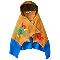 Kidorable Boys 2-7 Pirate Towel, Brown, Small by Kidorable