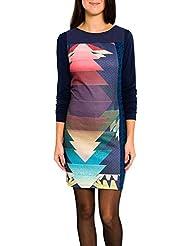 SMASH Canigo Vestido Pichi Estampado-A1661329, Robe de Chambre Femme