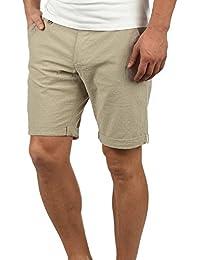 Blend Sergio Chino Pantalón Corto Bermuda Pantalones De Tela para Hombre De  100% Algodón Regular ddc676beeb9c