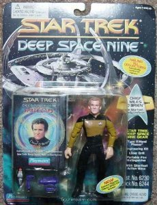 in Starfleet Duty Uniform- Actionfigur - Star Trek Deep Space Nine von Playmates ()