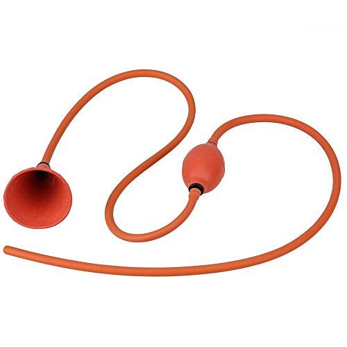 WEONE Ersatz Sicherheit Unisex Douche Kolon Bewässerung Detox rektale Sauber Stream-Kit Klistierspritze rektale 162cm Länge Red medizinische Gummi