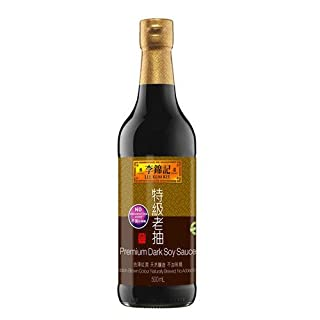 Lee Kum Kee Sojasauce, dunkel, premium, 2er Pack (2 x 500 ml)