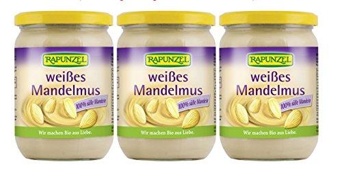 """Preisvergleich Produktbild (EUR 33,58/kg) Rapunzel MANDELMUS weiß, bio 3x500g """"VORRARTSPACK"""" NEU"""
