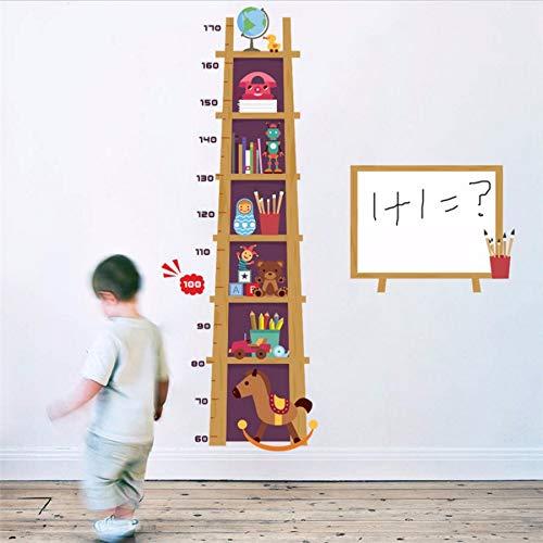 Kuamai Kinder Spielzeug Höhe Maßnahme Wandaufkleber Für Kinderzimmer 3D Wirkung Schrank Wachstum Diagramm Whiteboard Wandtattoos Kunst Poster Wandbild