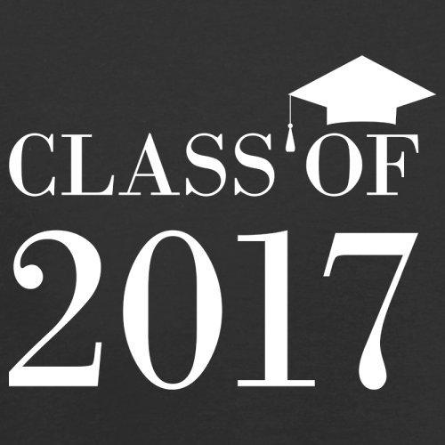 Class Of 2017 - Herren T-Shirt - 13 Farben Schwarz