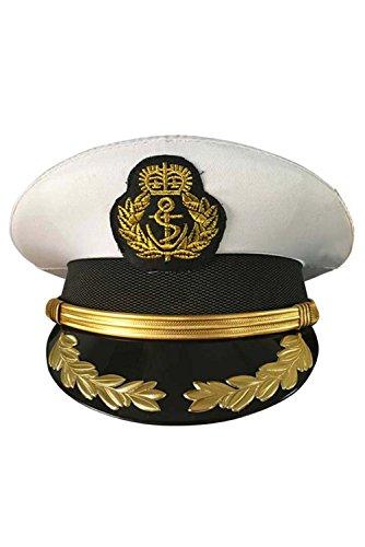 Joyplay Sombrero Traje Militar Gorra Oficial La Marina