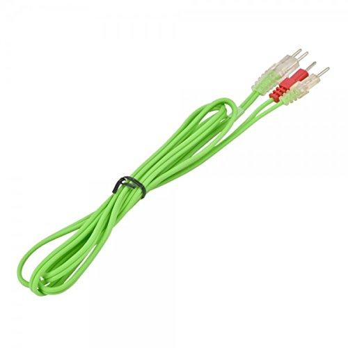 Compex eMS câbles pour électrodes, vert, cO2 681003