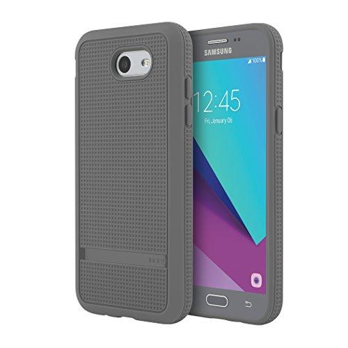 Incipio NGP Advanced Case for Samsung Galaxy J3 Smartphone - Gray